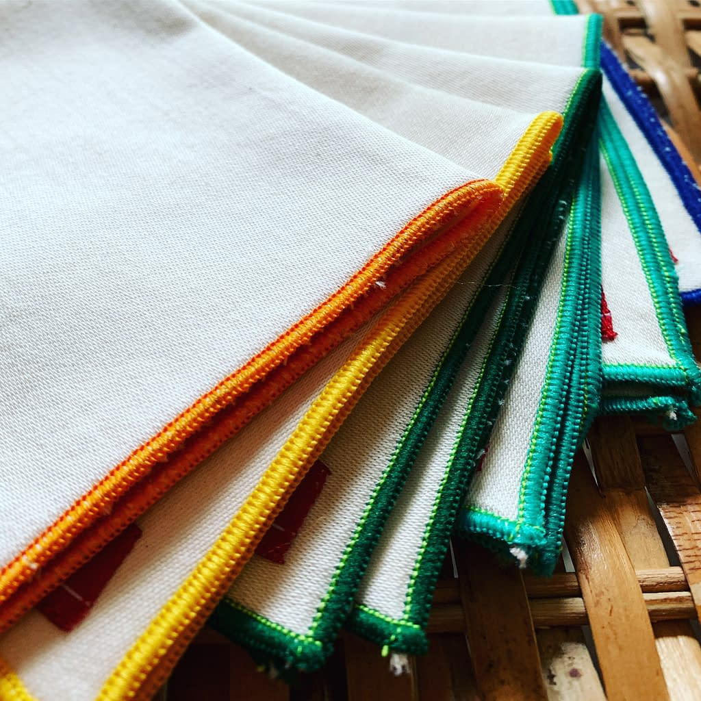 hank handkerchiefs organic cotton