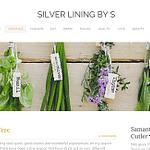Silver Lining by S - the TSHU handkerchief