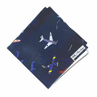 airplane handkerchief