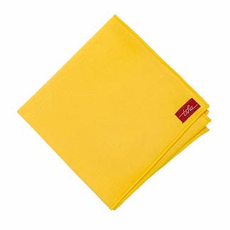 mouchoir jaune en coton