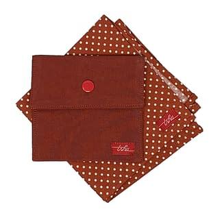 spotted handkerchief set