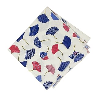 furoshiki ginkgo flowers cotton