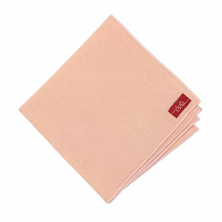 mouchoir en tissu rose