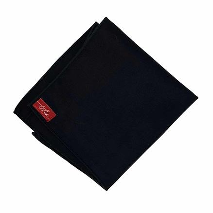 mouchoir en tissu noir