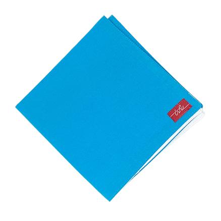 blue cotton handkerchief