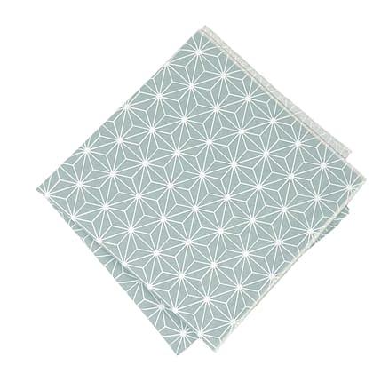 reusable gift wrapping turquoise furoshiki