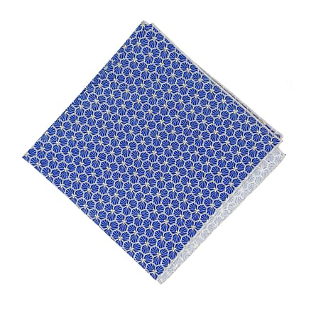 reusable gift wrapping blue