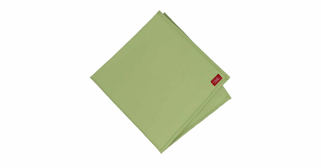 large green handkerchief