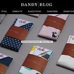 dandy blog mouchoir de poche