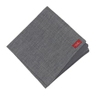 grey linen napkin