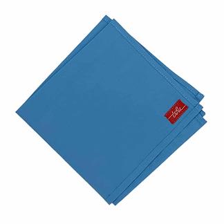 mouchoir tissu bleu