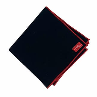 black flannel handkerchief