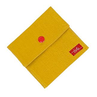 handkerchief holder yellow