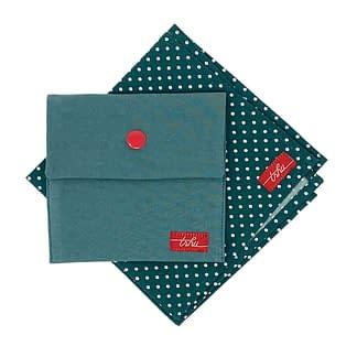 green handkerchief set