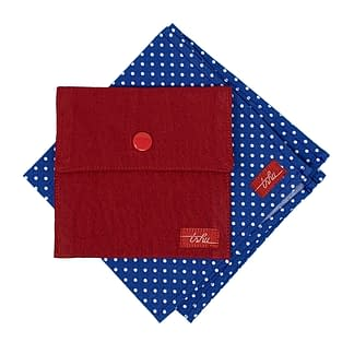 spotted handkerchief ensemble