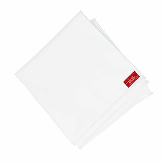 Mouchoir en tissu blanc