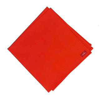 red cloth napkin