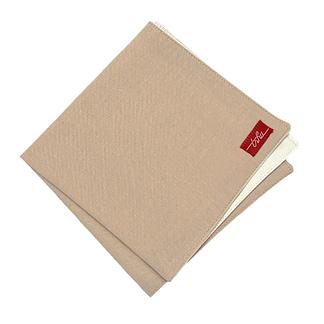 beige handkerchief