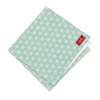 starred turquoise handkerchief