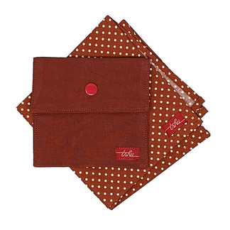 spotted handkerchief set
