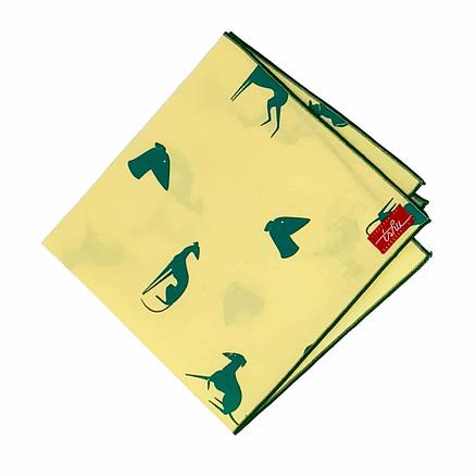 yellow hanky