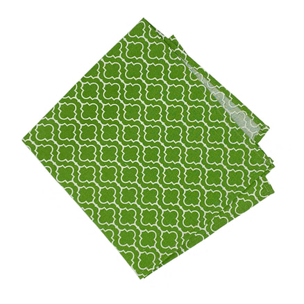 green cloth napkin