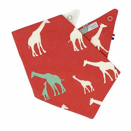 bavoir bandana rouge